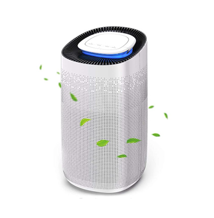 NIUBOT Air Purifier for Home Large Room,Super Quiet Air Cleaner with True HEPA Filter Purifying 540 Sq. Ft in 16 Minutes to Eliminates Hairs Allergies